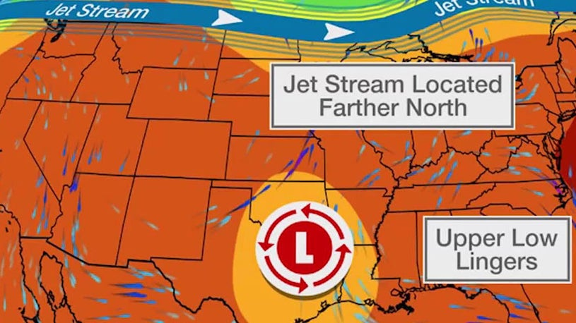Stormy Week Ahead for the Middle of the Country