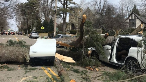 Winter Storm Quiana Knocks Out Power to More Than a Half
