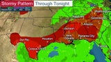 Stormy, Rainy End of Week for Eastern Half of the Nation