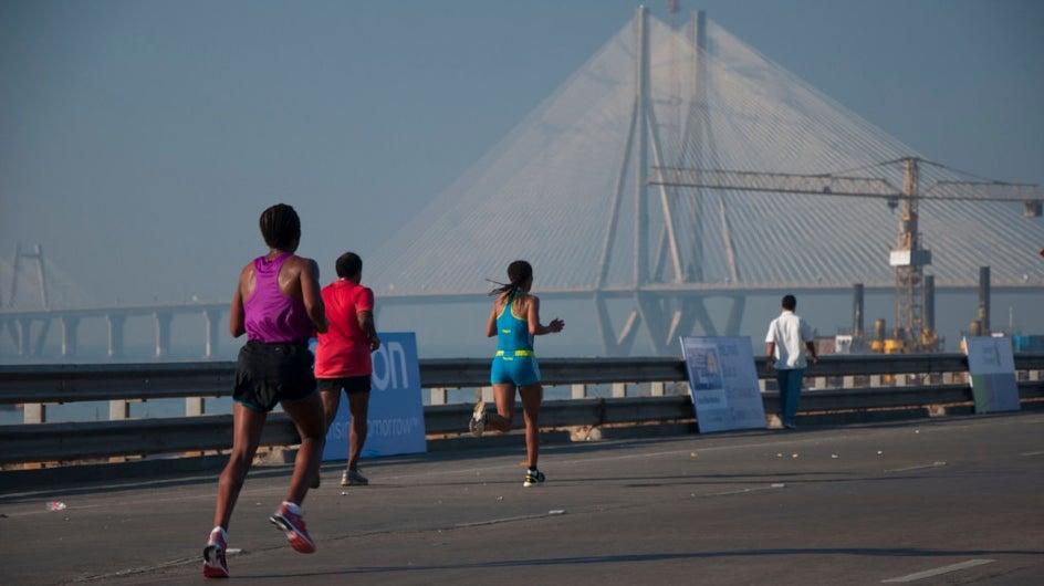 With Temperature Rising, More Marathoners Battle Fatigue