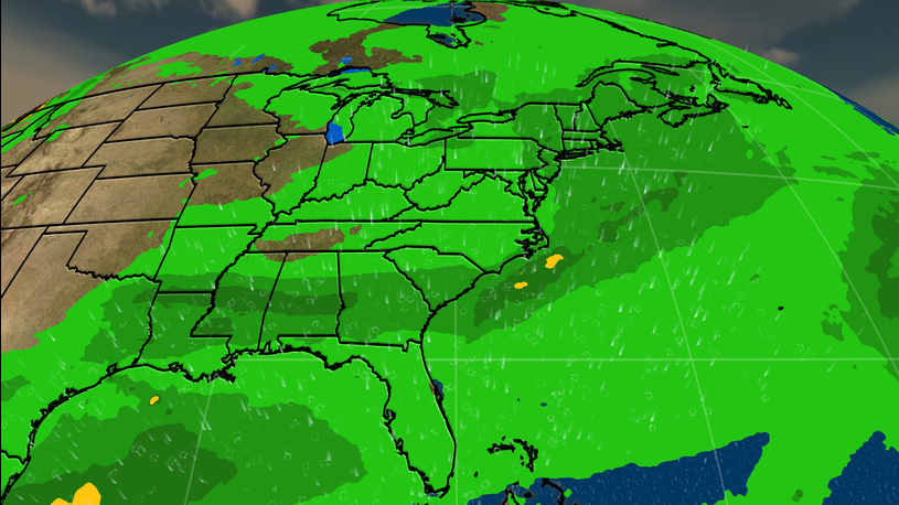 Stalled Front to Bring Drought-Busting Rain to Southern States