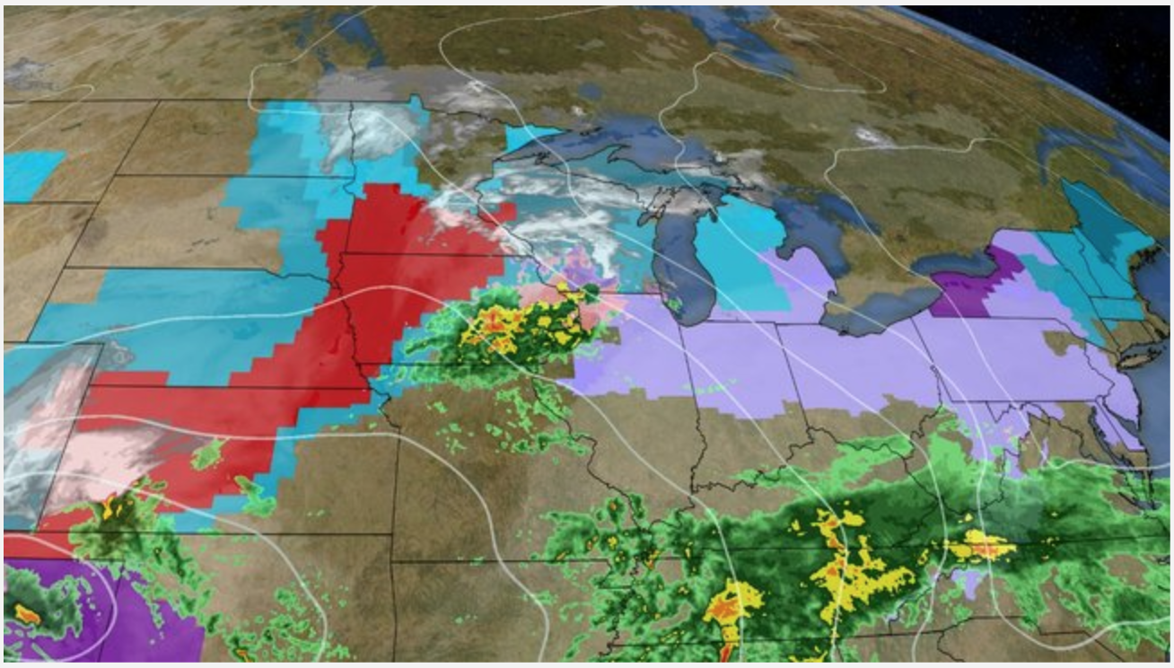 Winter Storm Quiana Bringing Snow and Ice Threat to Midwest