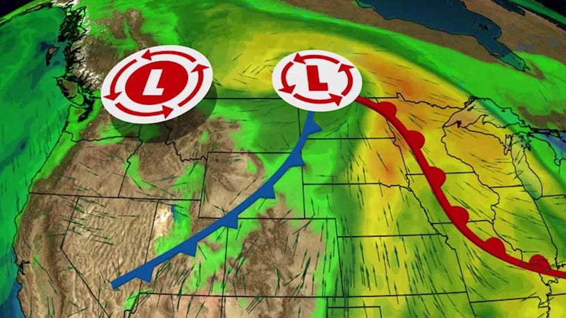 Stormy Setup for Plains, Midwest This Weekend and Into Next Week