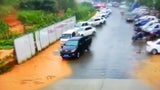 Rain Triggers Landslide That Sweeps Away Cars in China