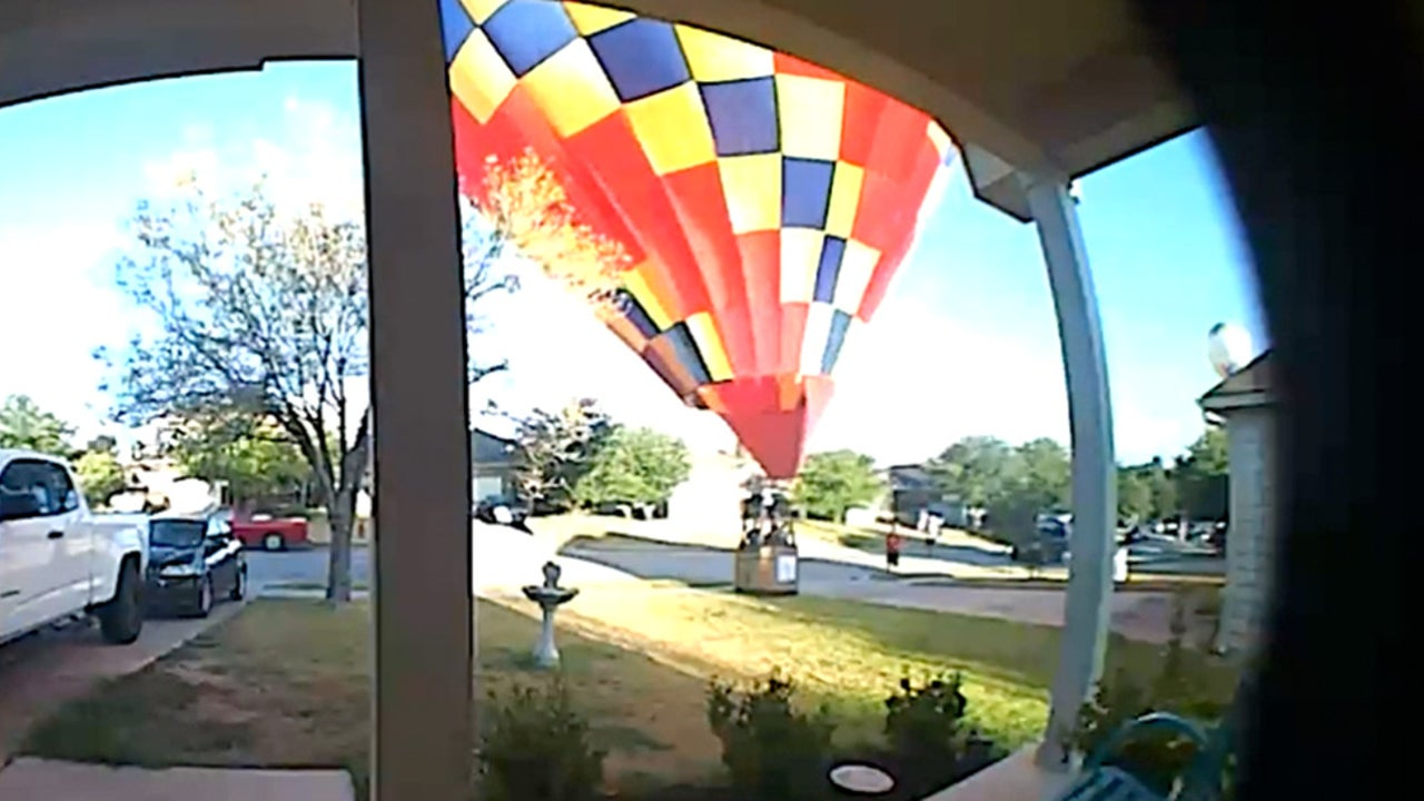 This Hot Air Balloon Landing Was Probably Unplanned