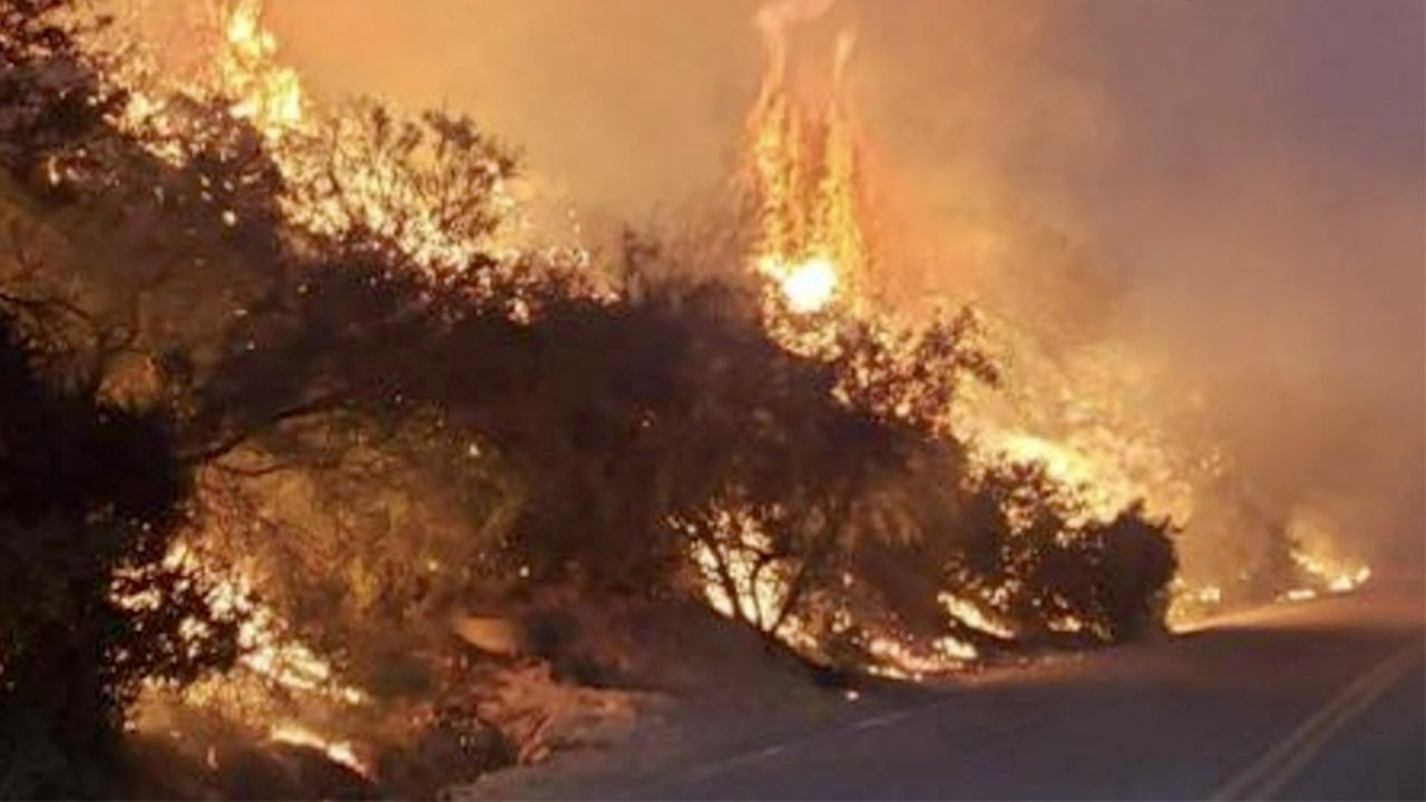 Arizona Wildfire Explodes in Size, Threatens Property