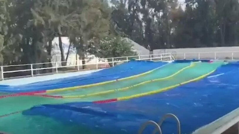 Mexico Earthquake Makes Waves in Pool