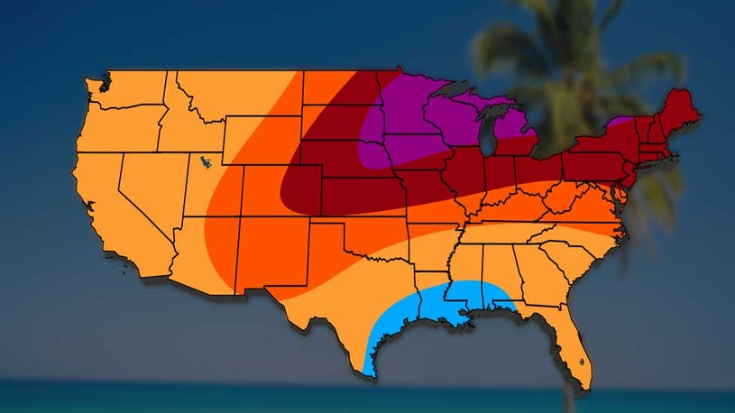 Looks Like a Hot July is on Tap for Much of Country