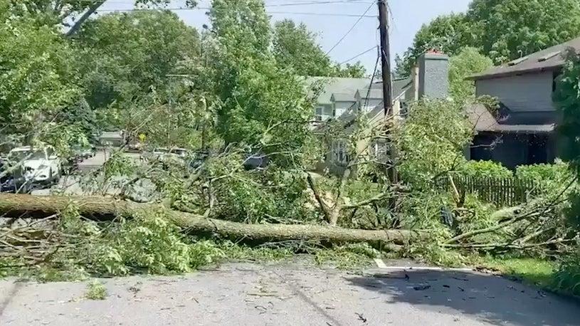 Severe Thunderstorms Roll Through Mid-Atlantic, 3 Killed