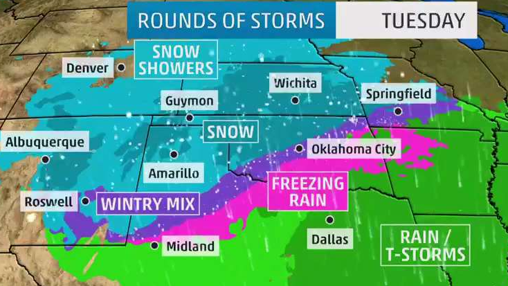 Series of Storms Will Bring Snow in Coming Week