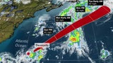 Tropical Depression Five Forms in the Atlantic