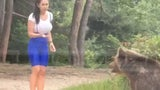 Taking Picture with Bear Proves Bad Idea