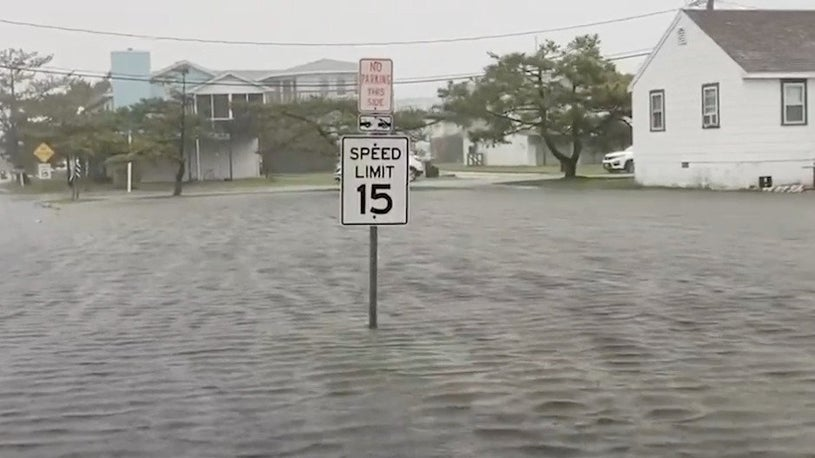 Tropical Storm Fay Causes Flooding, Power Outages on East Coast