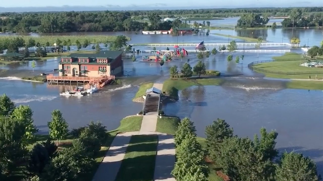 Kearney, Nebraska, Swamped with Flash Flooding
