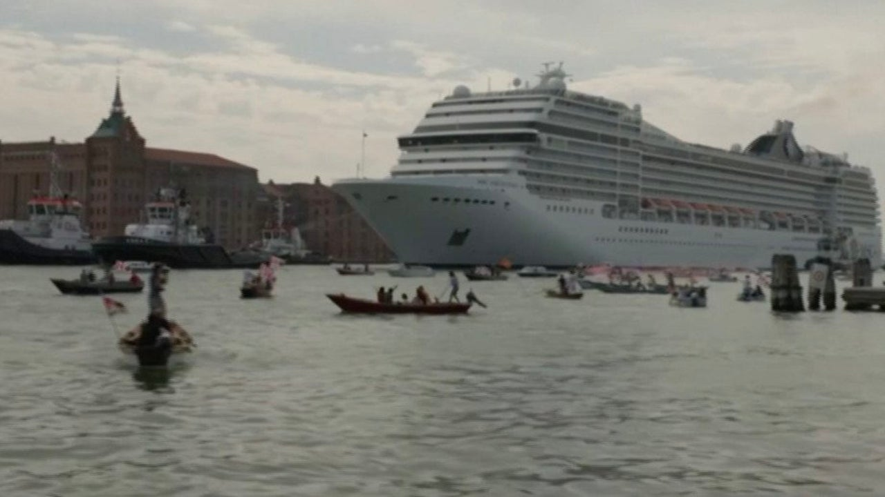 Cruise Ships to Be Banned From Venice