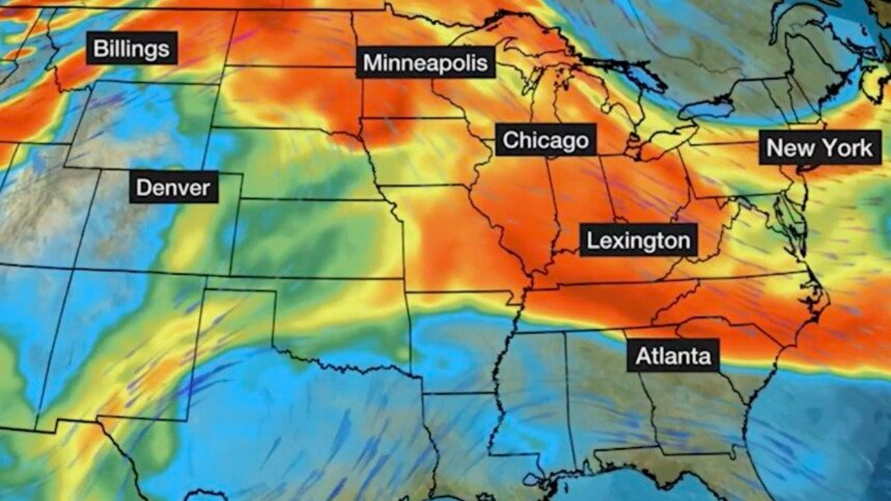 Western Wildfires' Smoke Affecting Air Quality in the Northeast