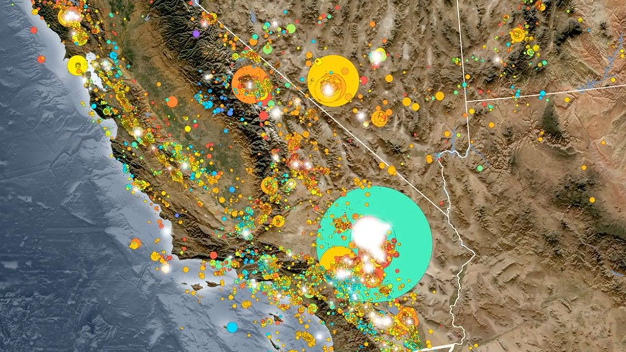 California Has Had a Lot of Quakes in Three Decades