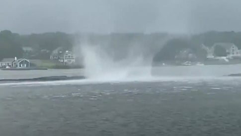 Waterspout Spotted Off Cape Cod Coast