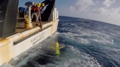 NOAA Using Robots to Collect Ocean Info For Hurricane Forecasting