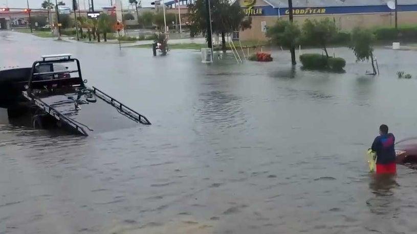 South Texas, Northern Mexico Soaked by Hanna's Heavy Rain