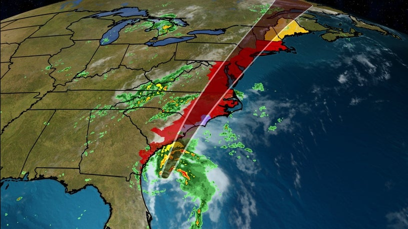 Isaias Expected to Make Landfall in the Carolinas