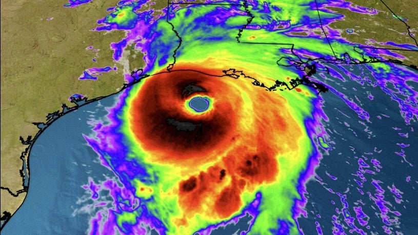 As Landfall Nears Hurricane Laura Continues to Strengthen