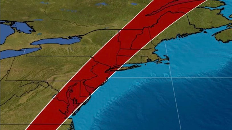 Northeast Forecast: When to Expect Isaias
