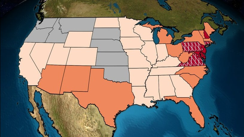 Just How Hot It Was Across the Nation in July