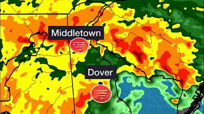 Isaias Spawns Delaware's Longest Tornado on Record