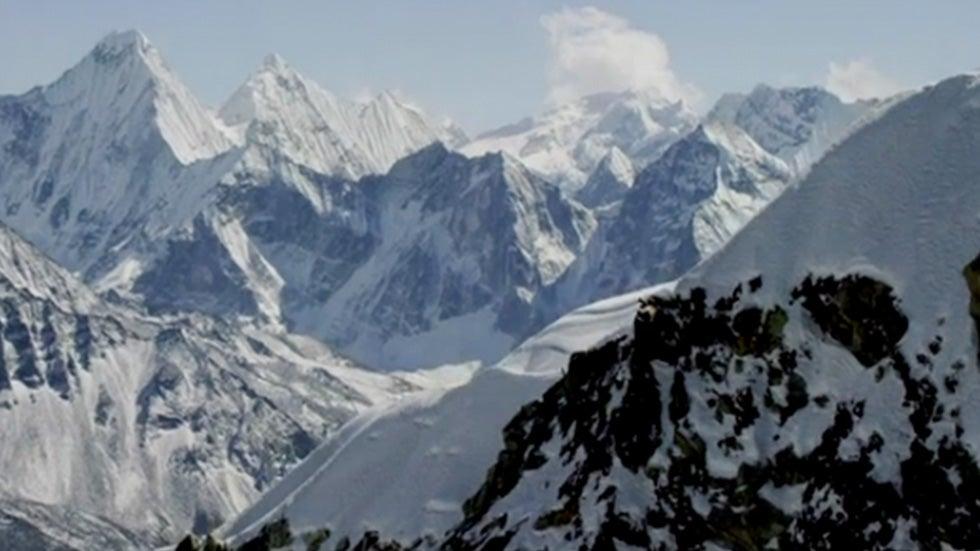 Glacial Melt Exposing Dead Bodies on Mount Everest