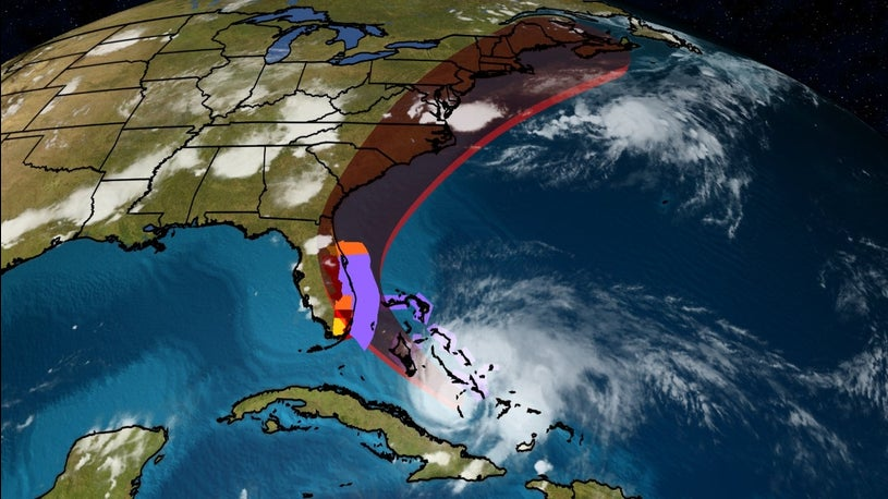 Hurricane Isaias Gets Stronger as It Moves Toward U.S.