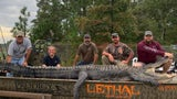 Monster 700-Pound Alligator Caught by Father-Daughter Duo in Georgia