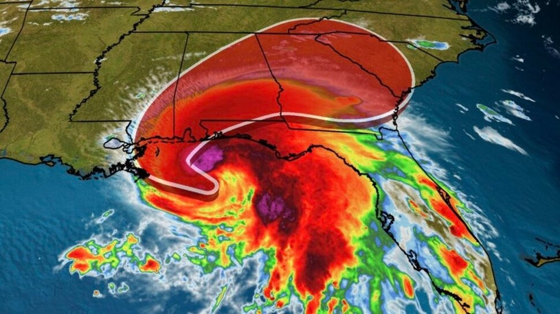 Hurricane Sally Strengthens in Gulf of Mexico