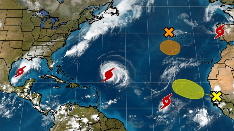 Atlantic Hurricane Season Goes Greek
