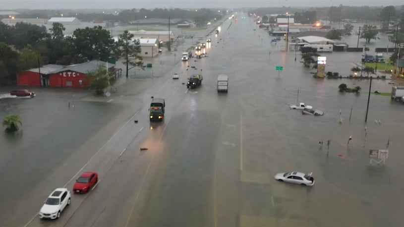 First Fatality Confirmed in Imelda; Texas Government Declares State of Emergency in 13 Counties