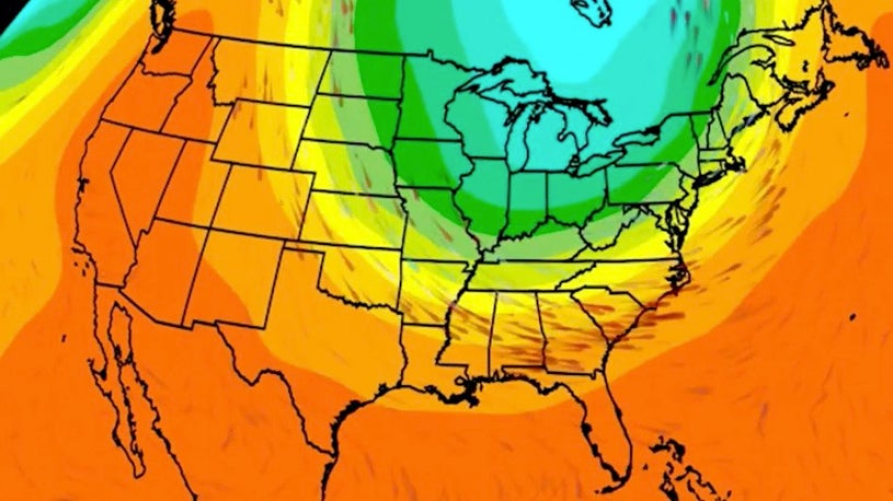 Below-Average Temperatures for Much of the Nation Next Week