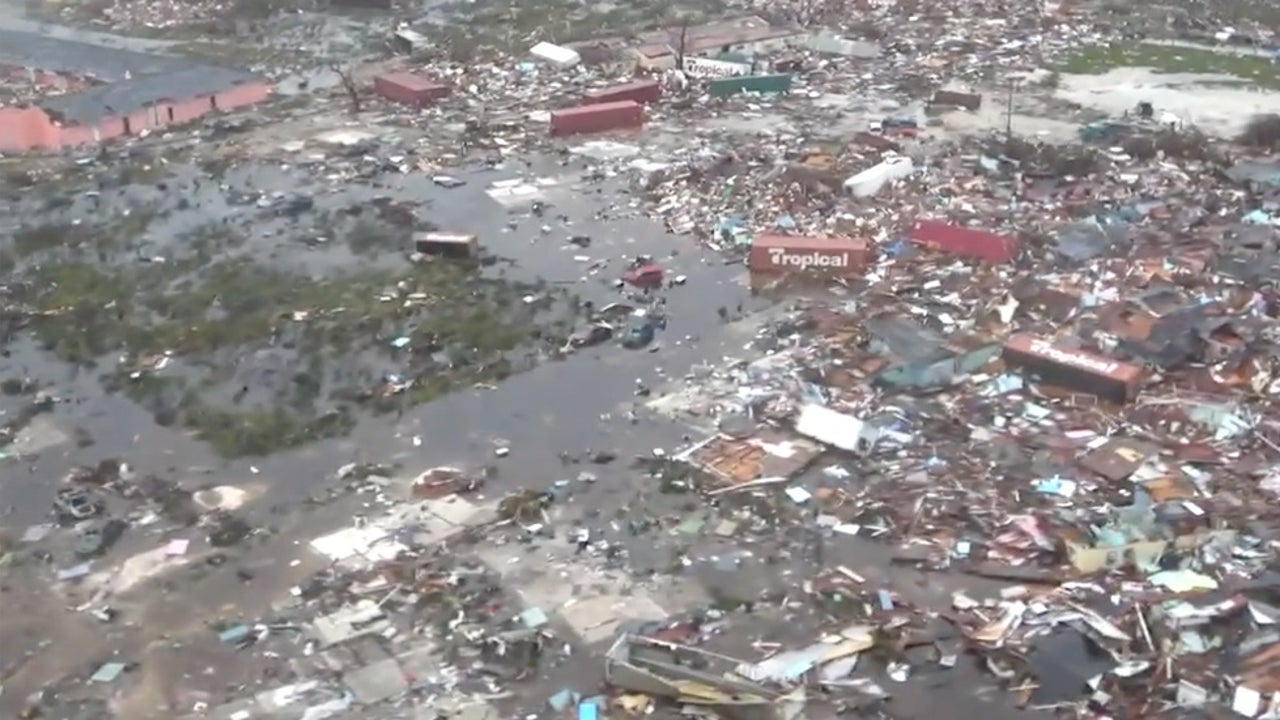 First Aerial Images of Devastation in the Bahamas