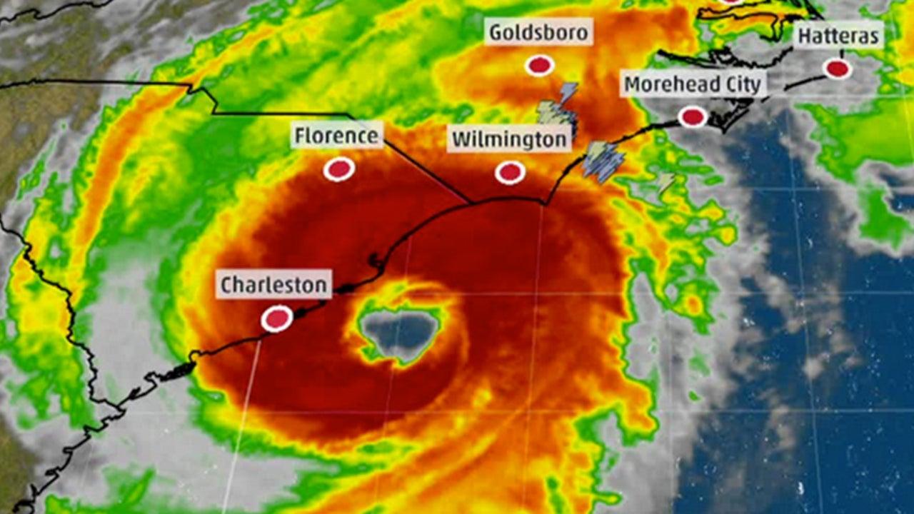 Dorian ist am Freitag in North Carolina auf Land getroffen. Für Teile der US-Küste warnte das National Hurricane Center vor lebensgefährlichen Sturmfluten, bedrohlichen Winden und starkem Regen. In der Gegend von Hatteras, wo Hurrikan Dorian an Land getroffen ist, könnte der Wasserstand bis zu 2 Meter Höhe erreichen.
