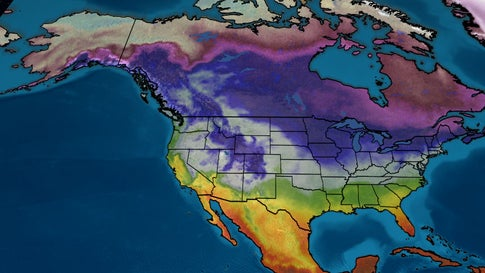 Where's Winter? Most of the Lower 48 Has Been Warmer Than Average So Far This Winter, Except Here