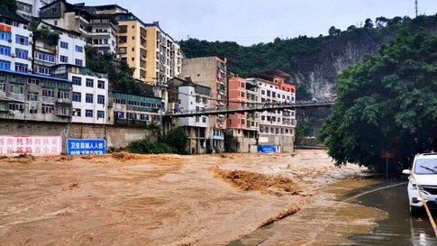 At Least 18 Dead, 8 Missing in China Flooding | The Weather Channel