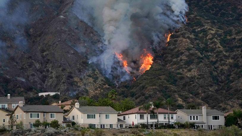 Southern California Wildfires Prompt Evacuations