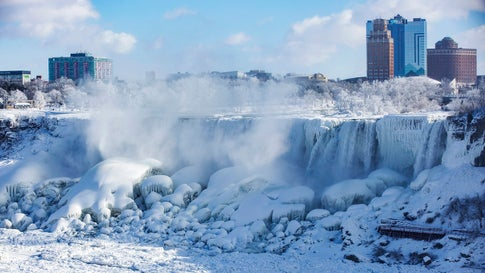 Here S What Niagara Falls Looks Like Right Now Photos