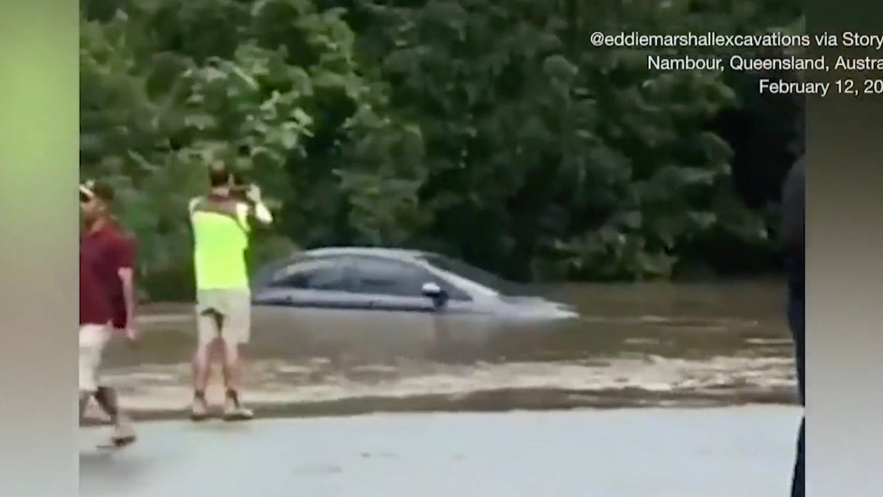 Kayaker Killed by Queensland Flooding