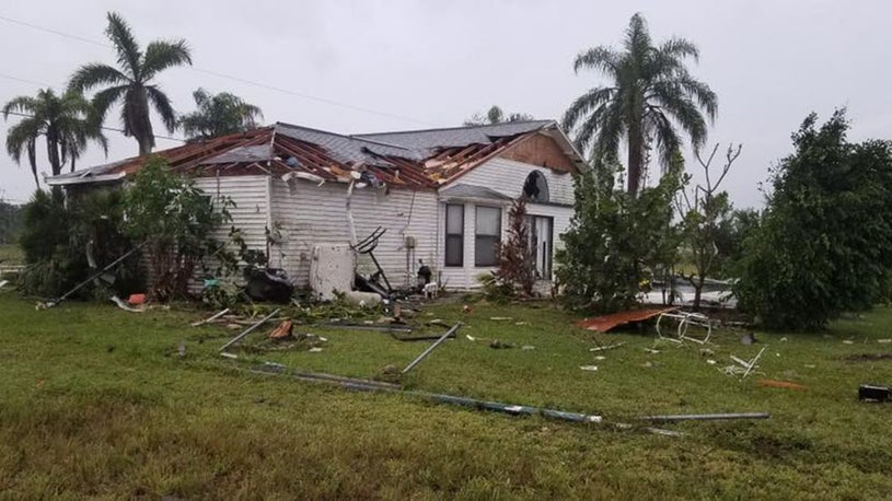 Tornadoes Spawned by Nestor Damage Homes, Knock Out Power