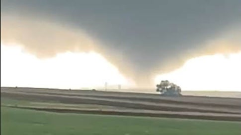 A Rare Clockwise-Rotating Tornado Touched Down in South Dakota Last Weekend