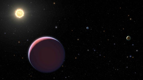 Super-Lightweight 'Cotton Candy' Planets Float in Outer Space