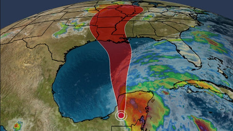 Cristobal Expected to Strengthen While Moving Through Gulf of Mexico