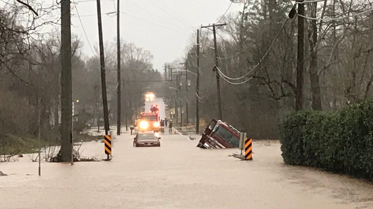 'Total Chaos': Evacuations in Two States, Water Rescues Reported