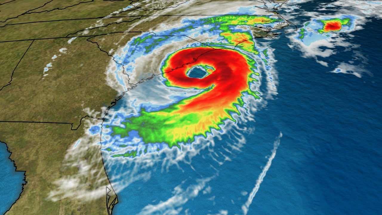 latest dorian update  tornadoes  storm surge continues as