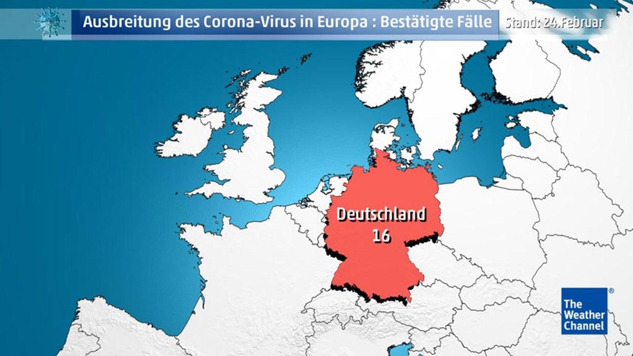 Coronavirus Fälle Karte
